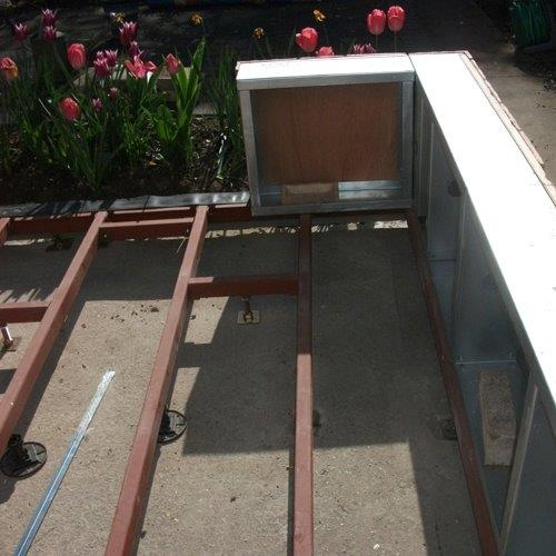 Lean to Diy Conservatory Dwarf wall steel bases