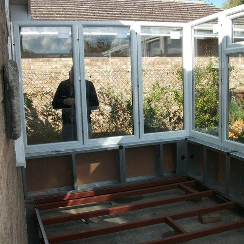 Bespoke Lean to Diy dwarf wall Conservatory