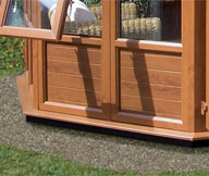 Oak Woodgrain PVCu