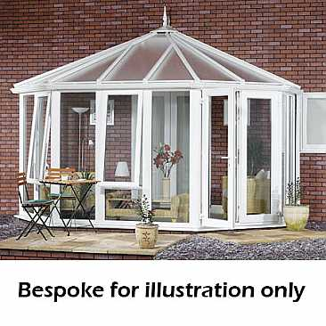 Victorian Glass To Ground DIY Conservatory