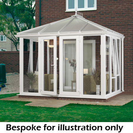 Edwardian Full Height Conservatory 4000mm D X 5000mm W
