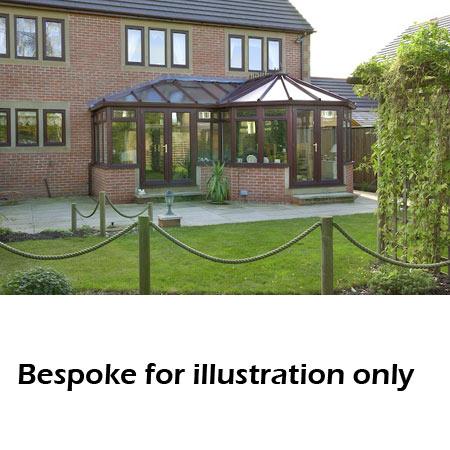 Bespoke P Shape Victorian Conservatory