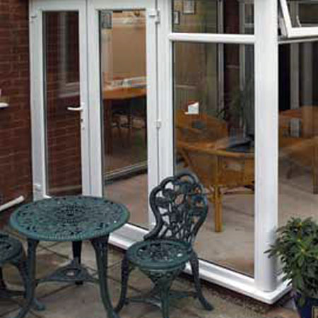 Edwardian Glass to Ground Conservatory