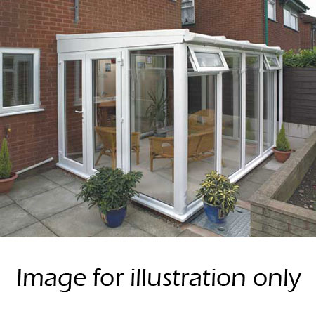 lean to full height conservatory