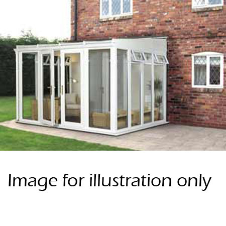 leanto full height conservatory