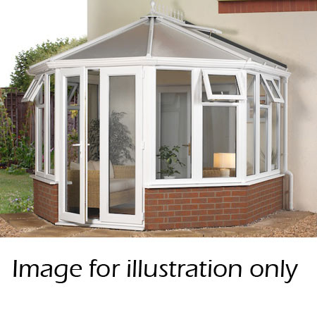 Victorian Dwarf Wall Conservatory