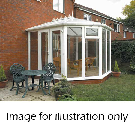 Victorian Full Height conservatory