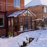 How to keep your DIY Conservatory warm in Winter