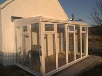 Cheryl McCulloch - Lean-to Full Height Conservatory 3901mm width x 2343mm projection