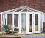 Gullwing Conservatory Steel Base 3500mm(d) x 8000mm(w)