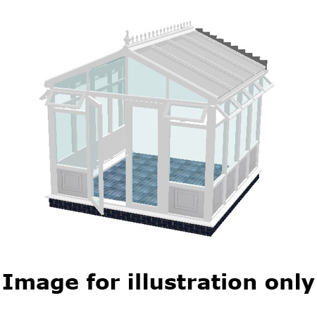 Pavilion infill panel DIY Conservatory 3500mm (d) x 5000mm (w)