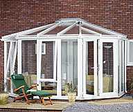 Gullwing Conservatory Steel Base 3500mm(d) x 8500mm(w)