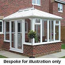 Edwardian dwarf wall conservatory 4000mm (d) x 5000mm (w)