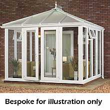 Edwardian full height DIY Conservatory 4500mm (d) x 3500mm (w)